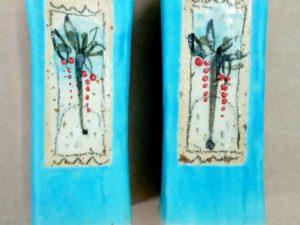 מלחיות קרמיקה דגם פרח