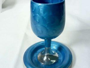 גביע קידוש איכותי כחול