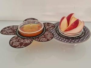 צמד חמד! זוג קעריות להגשת תפוח בדבש